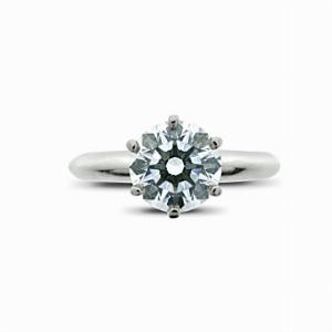 1.36ct Brilliant Cut Diamond Engagement Ring - By Tiffany & Co.
